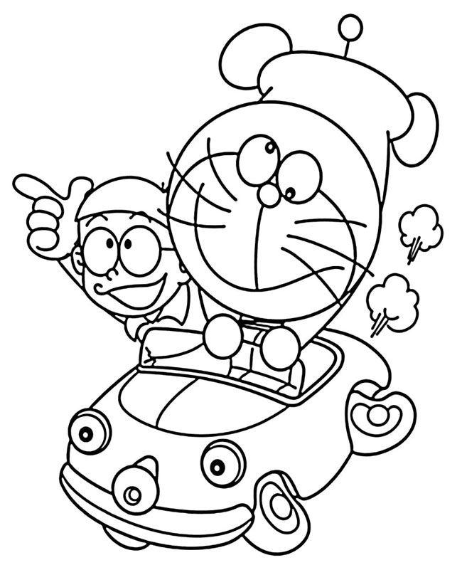 Ghim Tren Tranh To Mau Nobita