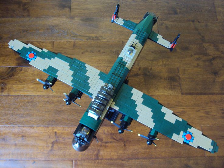 by Zwing5346 #flickr #LEGO #ww2 #plane #Avro #Lancaster | The ...