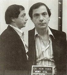 Henry Hill is a former American mobster. A Lucchese crime family associate, Hill became an FBI informant whose life story was documented in the book Wiseguy. The 1990 Martin Scorsese film, Goodfellas, was based on the book, with Hill played by Ray Liotta.