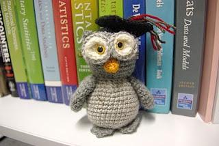 Gradu-Owl. I made this for my daughter's friend for her University Graduation: My Daughter, Gradu Owl, Handmade Owls