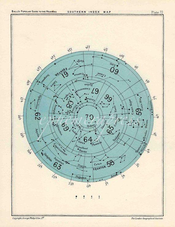 astronomy charts printable-#37