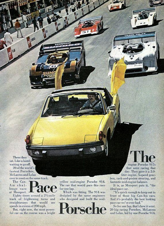 Porsche 914 - The Pace Car