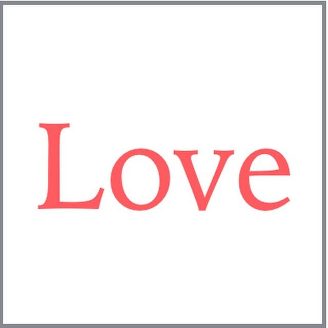 Love. #love #SimpleBeauty #creativity #pink #white #poster #life