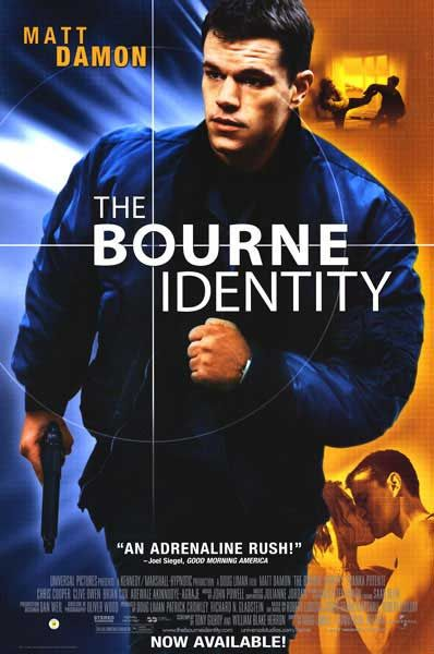 Greatest Movie Posters | BOURNE IDENTITY MOVIE POSTER - See best of PHOTOS of the BOURNE movies