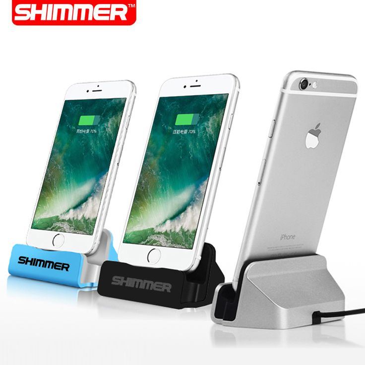 BRILLO Cable de Datos USB Sync Cargador de Muelle de Soporte Estación Base de Carga Muelle estación para 5c apple iphone 7 sí 5 5S 6 6 s plus