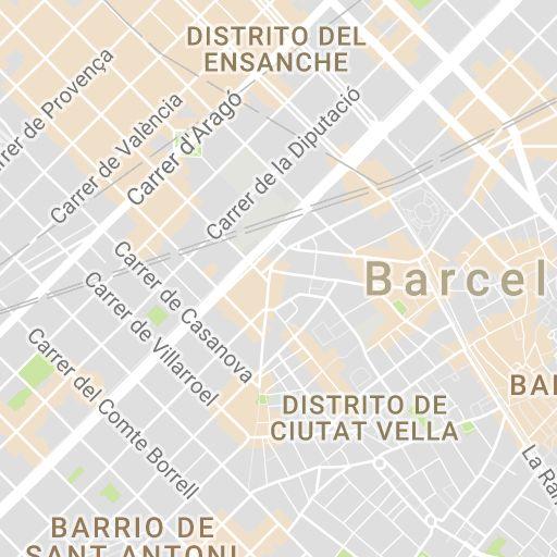 Mapa de Barcelona, Plano y callejero de Barcelona - 101Viajes.com