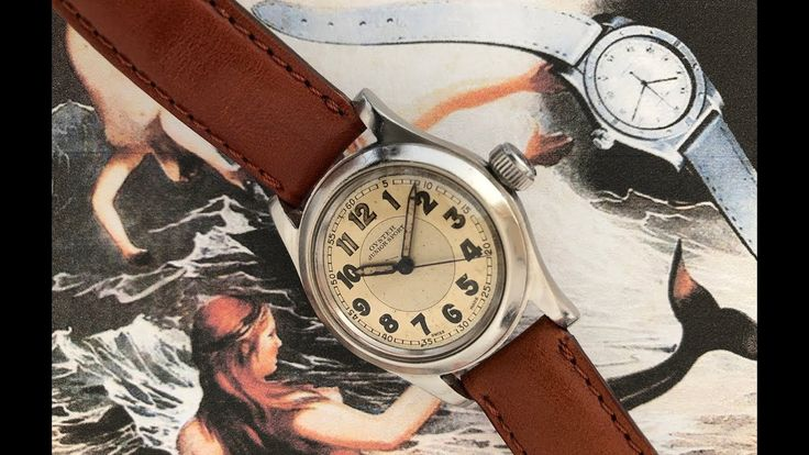 Oyster Junior Sport (English). An authorized alternative to Rolex from the 1940s.
