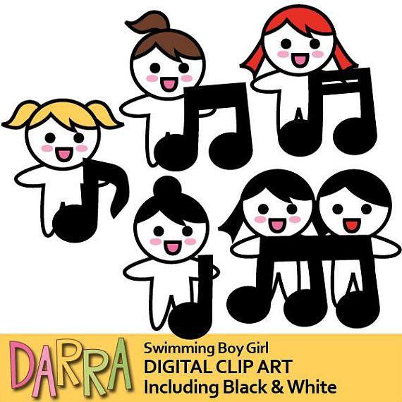 Singing clipart / singer clip art / planner clipart sticker