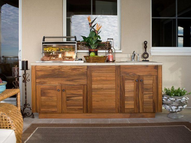 Wie man Küchenschränke im Freien baut #diy