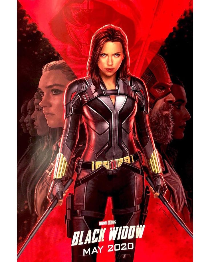 ‪Here's your first look at The Black Widow movie! Would you look at David Ha…