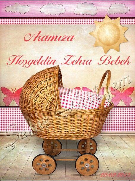 Bebek Arabası Kız Bebek Şekeri Etiketi #babyshower #bebekşekeri #bebekşekerietiketi