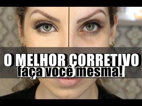 CORRETIVO PERFEITO, FAÇA VOCÊ MESMO por Lu Ferraes - YouTube