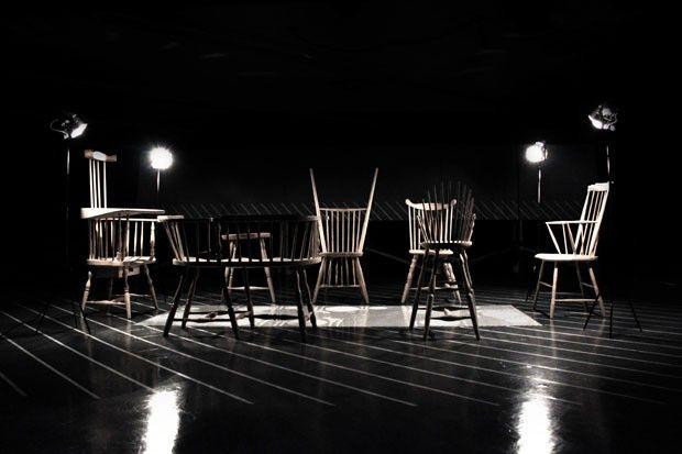 Cadeiras Windsor em versões 'erradas'
