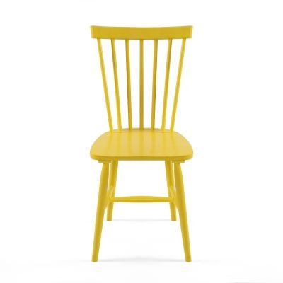 I have a thing for spoke chairs. The brighter the colours the better!