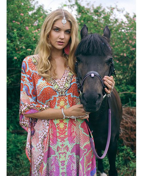 Ruby Yaya Ibiza Gucci Kaftan find it and other fashion trends. Online shopping for Ruby Yaya clothing. Channel your inner goddess in this amazing kaftan by...