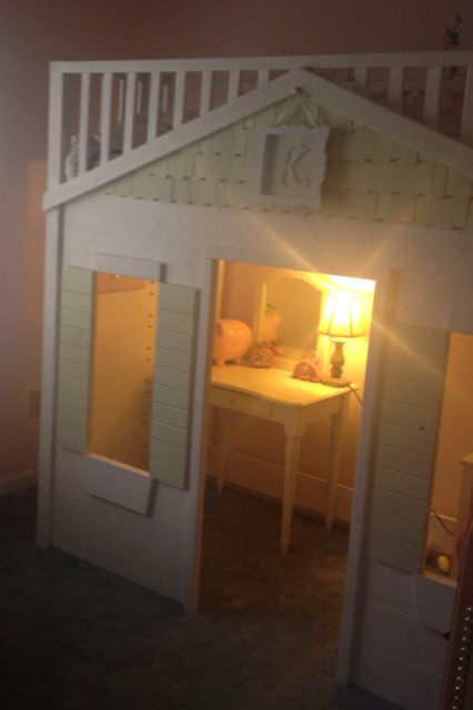 Cottage Loft Bed | Do It Yourself Home Projects From Ana White. Castle  BedKids FurnitureFurniture ...