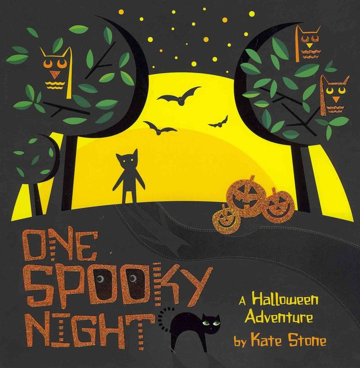 One spooky night : a Halloween adventure by Kate Stone.