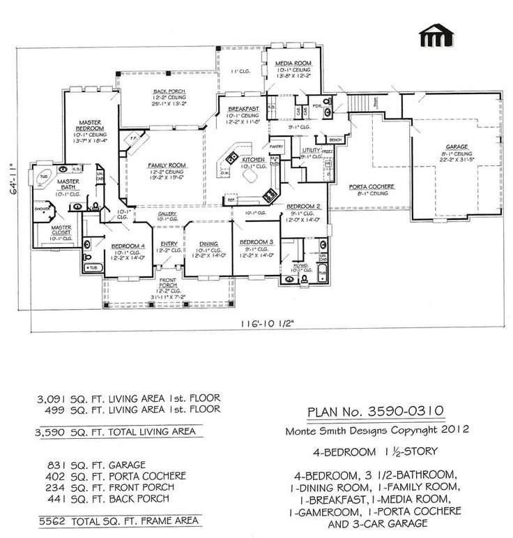 House Plans With Media Room 241 best floor plans images on pinterest | house floor plans