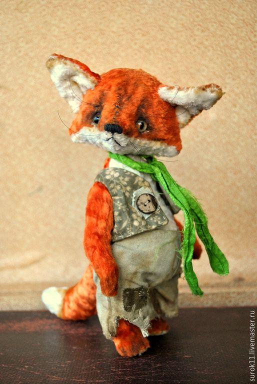 Купить Рыжие лисята Берта и Вертер. - рыжий, лисичка, лиса, лисичка игрушка, лиса тедди