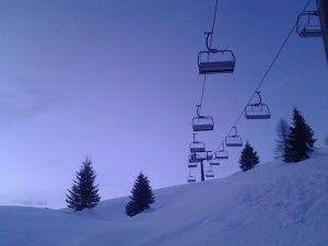 Alba al #passo san Pellegrino... momenti belli una delle #3cosebelle di #trentinrivera -cielo-sliding-down-from-up-there-