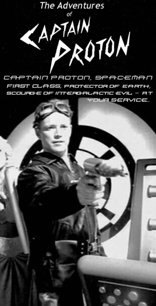 Tom was so awesome with his Captain Proton gig. What was even funnier was when he dragged other crewmates along...