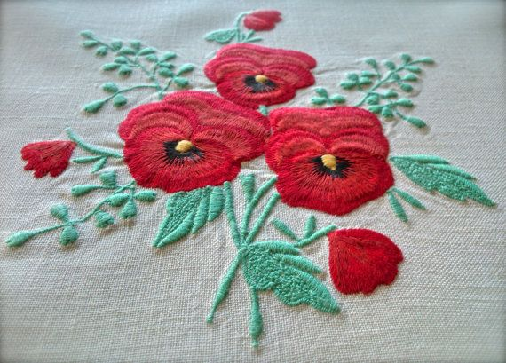 Check out this item in my Etsy shop https://www.etsy.com/uk/listing/493977713/stunning-vintage-embroidered-poppies