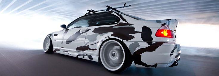 Carros com camuflagem – a guerra da personalização!