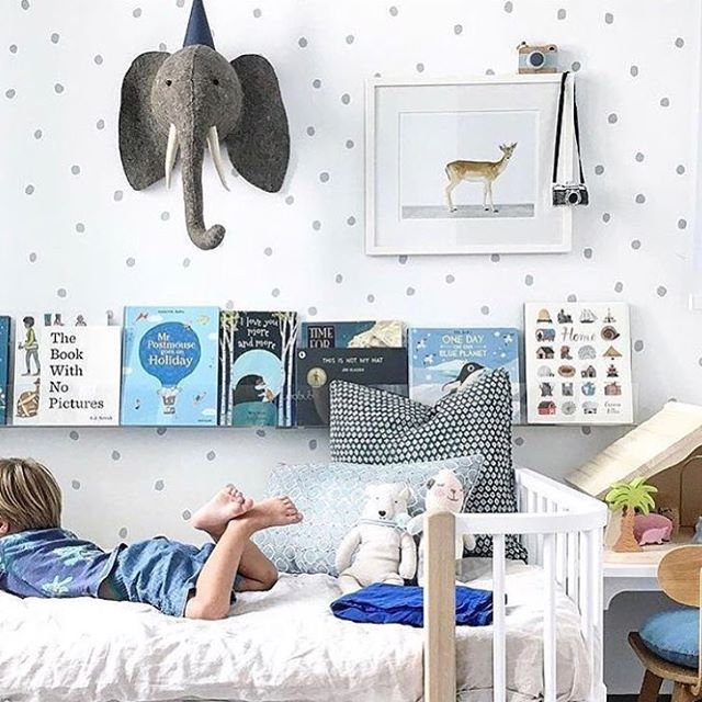 An Elephant never forgets (or stays in stock for long!) Is this not ultimate room goals?? #ohtobeakidagain #epickidsroom #elephant #restocked #fionawalkerengland  Pic sourced form Pinterest original source unknown
