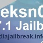 Geeksn0w Download for Semi untethered Jailbreak iOS 7.1 - 7.1.1 on iPhone 4