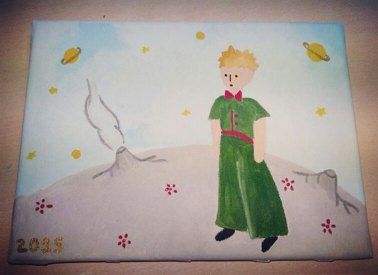 Painting on Canvas for a little prince