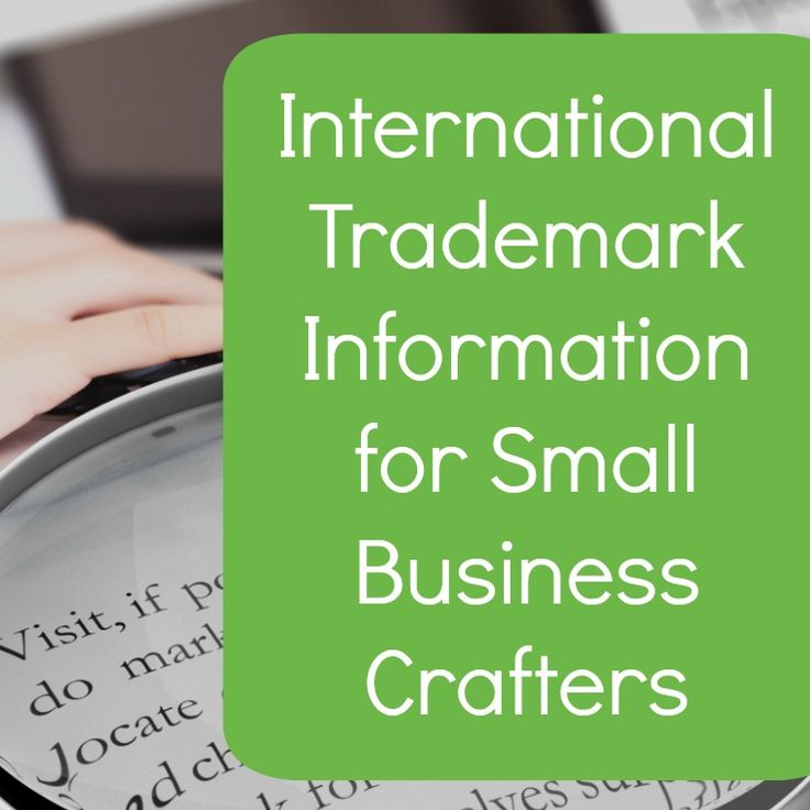 Trademark information for international Silhouette Cameo and Cricut business owners. Includes links to information for Australia, Brazil, Canada, and UK.