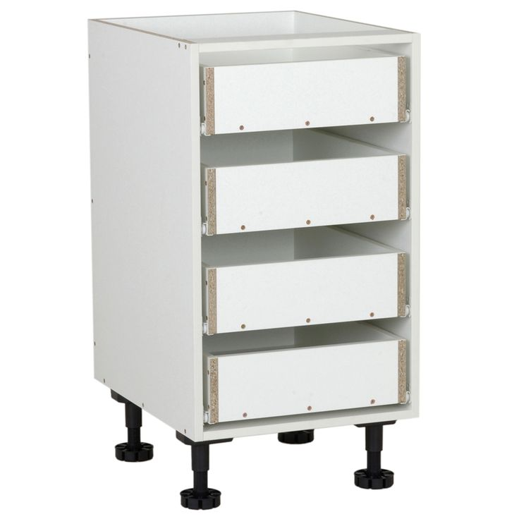 Kaboodle 450mm 4 Drawer Base Cabinet