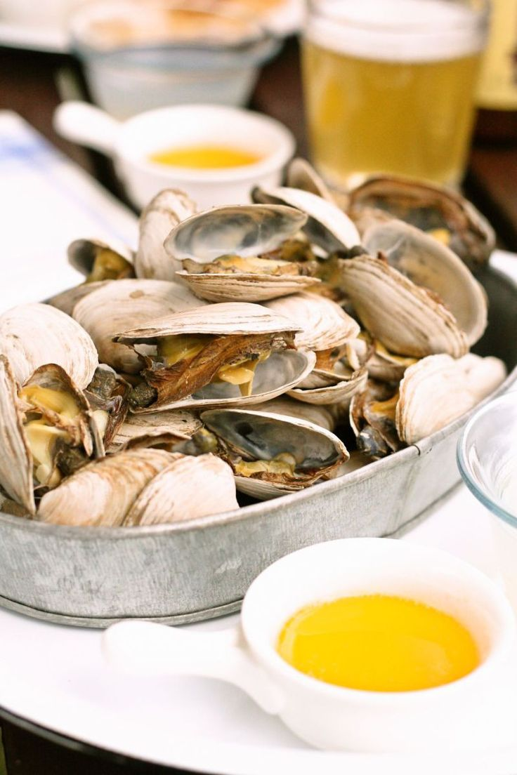 Steamers are very popular in New England. And Yes! Steamers! You can make it at home! Steamer clams could be purchased at most major superm...