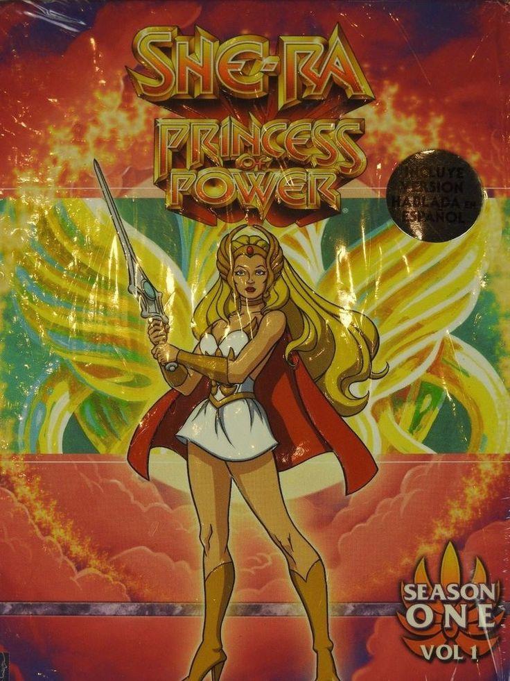 She-Ra: Princess of Power - Season 1: Volume 1 (DVD, 6-Disc Set) W Exclusive ART #HeManandtheMastersoftheUniverse