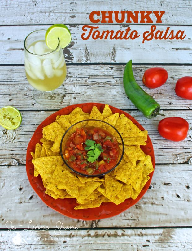 Homemade Cooked Salsa Recipe with Fresh Tomatoes