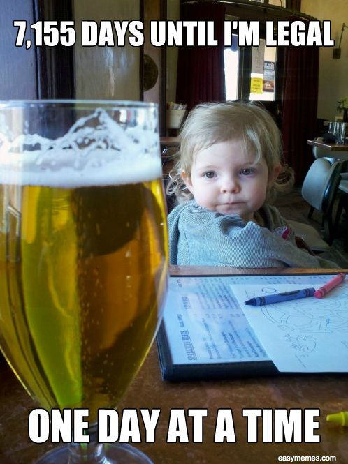 Thirsty Toddler Meme: For All I Do, This Bud's for YOU? No Fair!