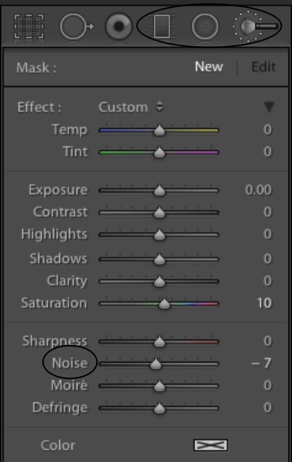 Reducing noise in lightroom