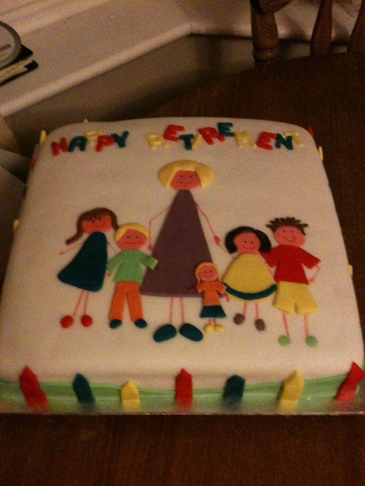 Retirement Cake Designs For Teachers : 1000+ images about Retirement on Pinterest Teacher ...