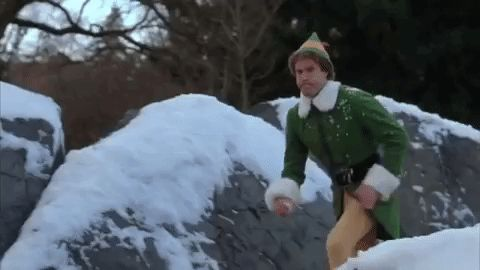 christmas movies will ferrell elf snowball snowball fight #humor #hilarious #funny #lol #rofl #lmao #memes #cute
