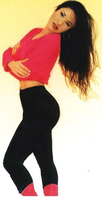 "Selena Quintanilla Perez- I just watched ""Selena"" and I teared up at the end! I love this movie❤RIP Selena!"