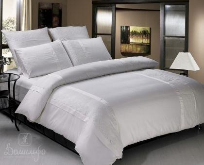 Купить постельное белье ELISS кремовое 1,5-сп от производителя KingSilk (Китай)