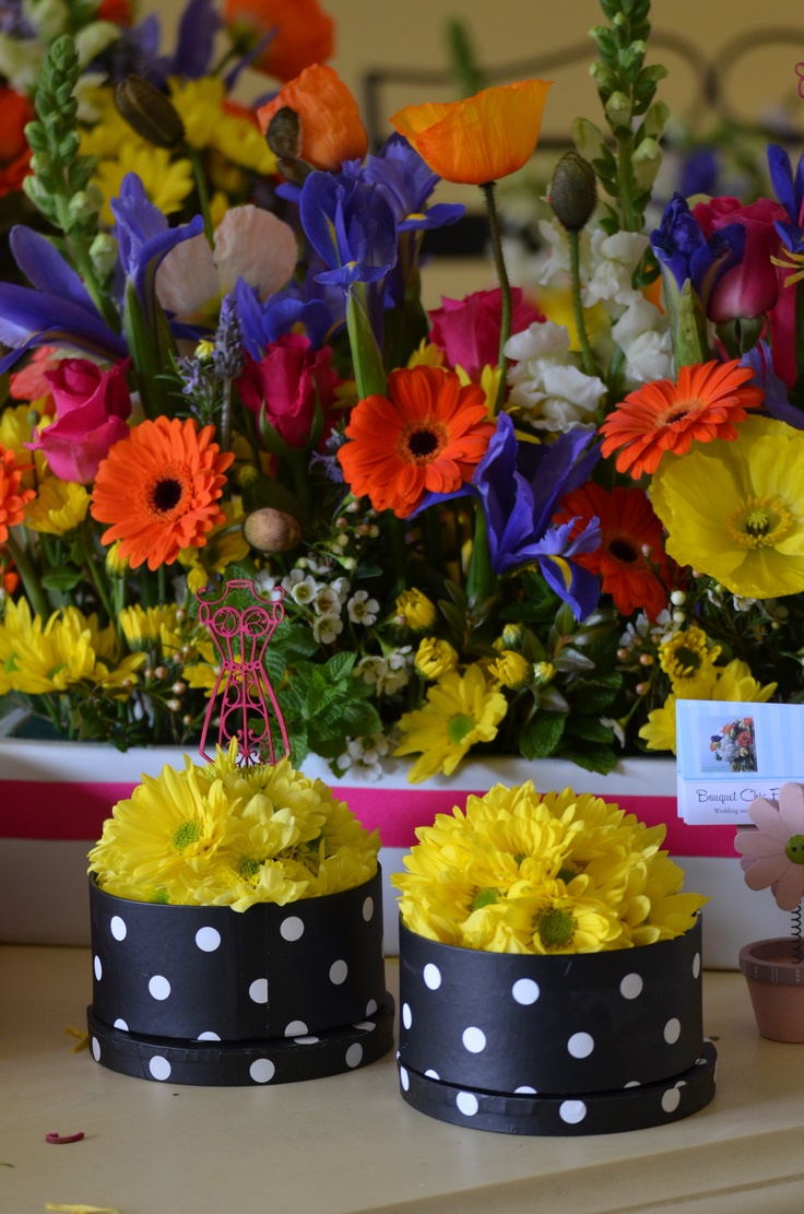More birthday flower boxes