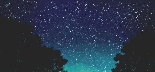 Night Sky Anime - Google Search