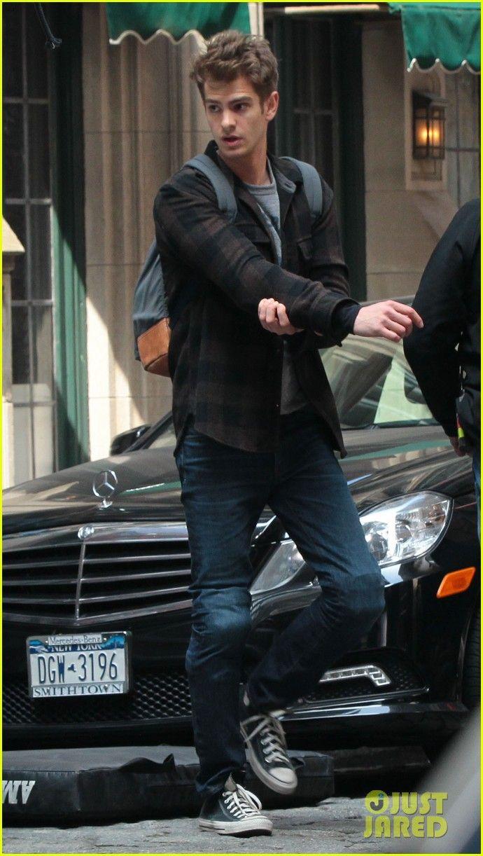 Emma Stone & Andrew Garfield: Day 82 on Spider-Man 2!