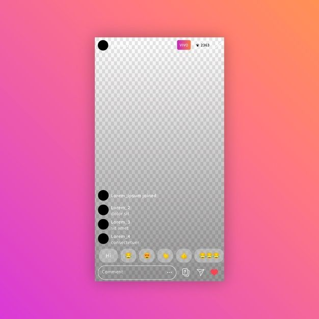 Download Instagram Interface Streaming Concept For Free In 2020 Instagram Template App Interface App Template