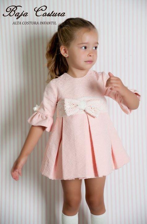 Vestido rosa invierno