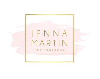 Pre-made Logo Design & Photo Watermark от DesignsBySeph на Etsy