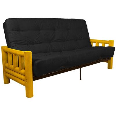 Grand Teton Futon and Mattress Upholstery: Suede Ebony Black, Size: Queen - http://delanico.com/futons/grand-teton-futon-and-mattress-upholstery-suede-ebony-black-size-queen-603748970/