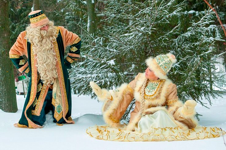 New Year's Eve in Kazan (A Visit to the Tatarian Santa Claus)