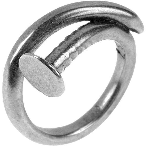 TOM BINNS Ring ($140) ❤ liked on Polyvore featuring jewelry, rings, accessories, silver, tom binns, tom binns ring and tom binns jewelry